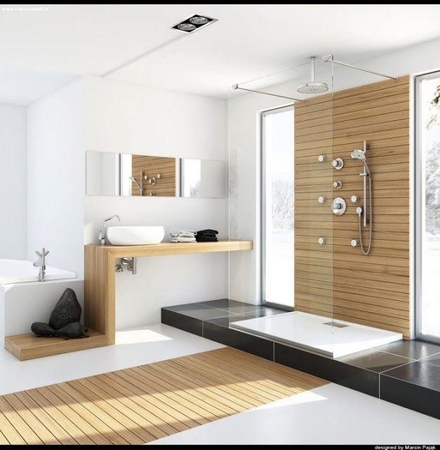 Des sols originaux pour la salle de bain cocon de for Salle de bain art et decoration