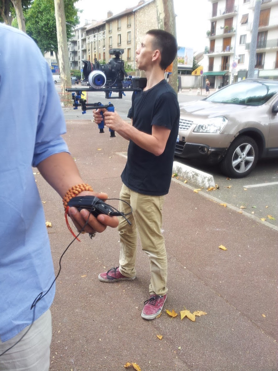 tournage isover camera