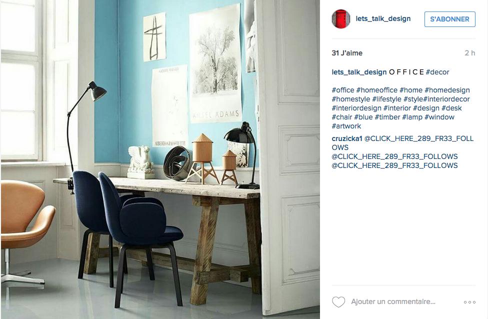 Instagram u2013 une tonne didées pour un joli bureau u2013 cocon u2013 déco