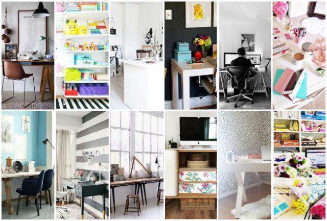 Instagram une tonne didées pour un joli bureau cocon de décoration le blog