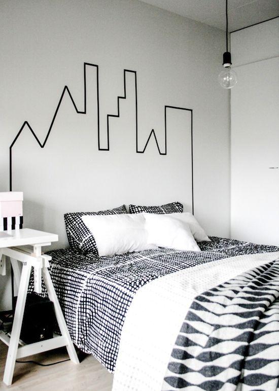 5 diy pour la chambre coucher cocon d co vie nomade. Black Bedroom Furniture Sets. Home Design Ideas
