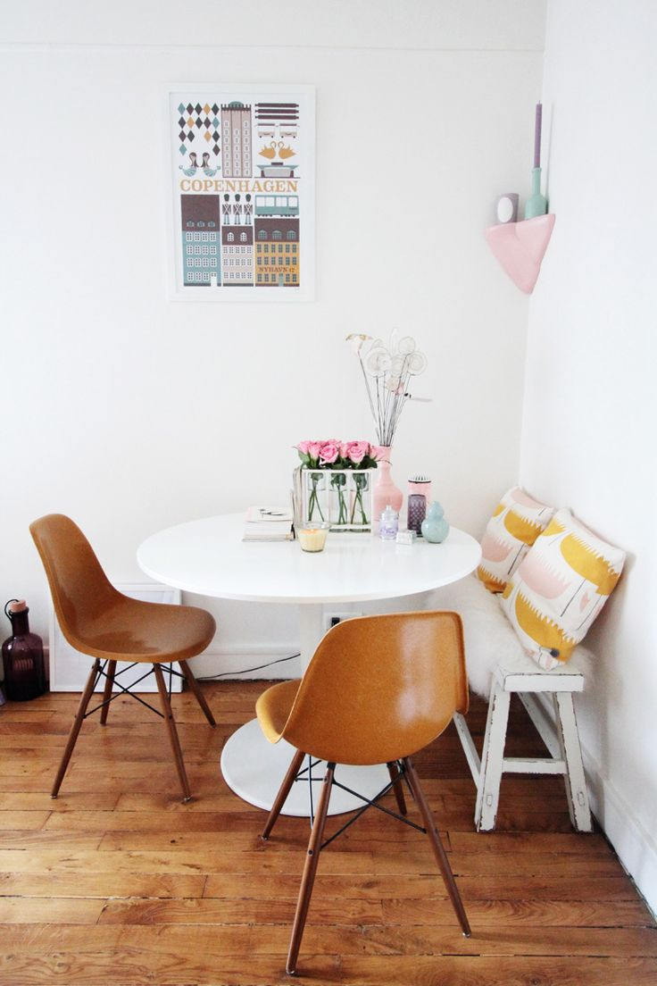 Une petite salle manger cocon de d coration le blog for Dining area for small spaces