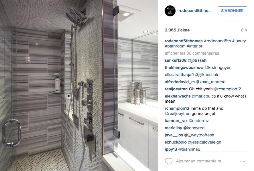 Instagram des id es d co pour la salle de bain cocon de d coration le blog - Salle de douche deco ...
