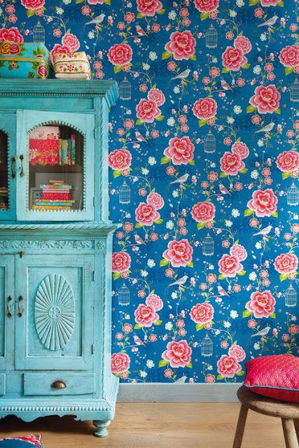 inspiration papiers peints imprim s cocon d co vie nomade. Black Bedroom Furniture Sets. Home Design Ideas