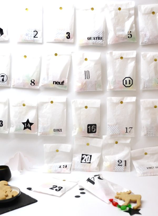 diy calendrier de lavent facile a faire