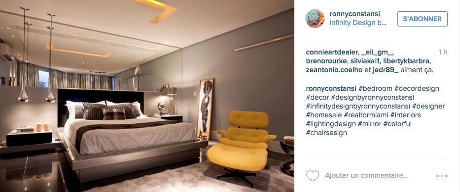 instagram chambre deco jaune neutre