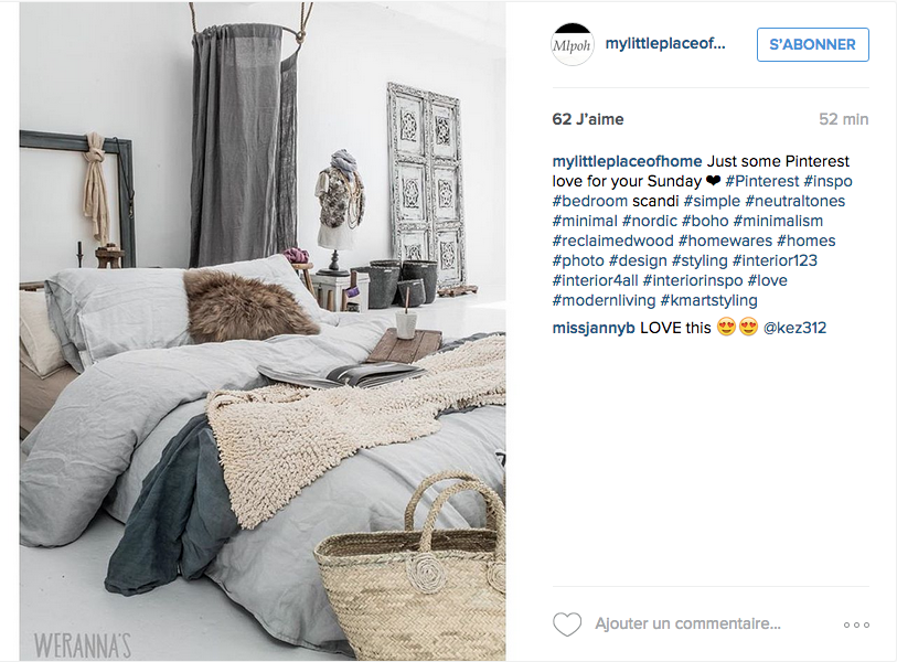instagram inspiration d co pour la chambre cocon de On chambre instagram