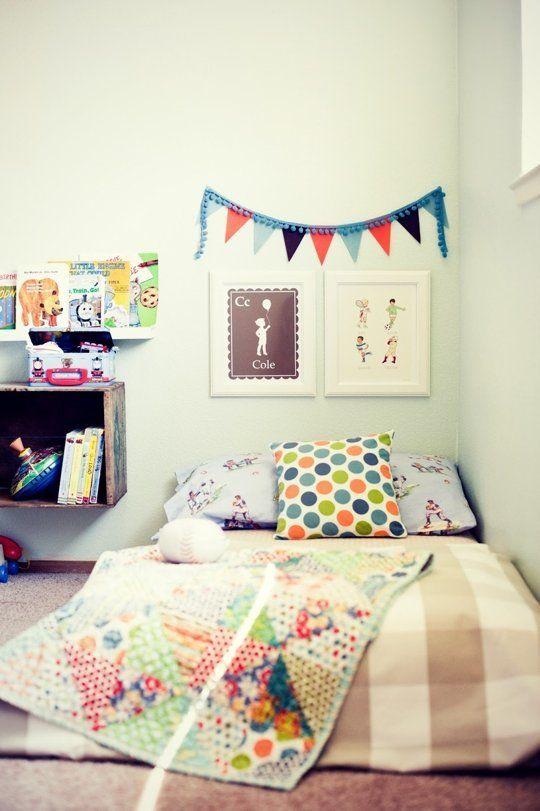 lit matelas enfant adapte montessori chambre