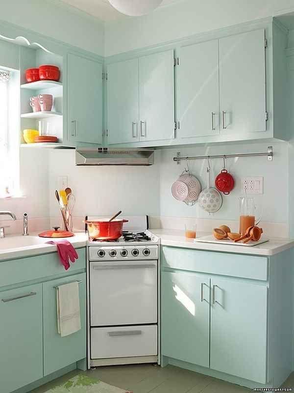 petite cuisine mobilier couleur