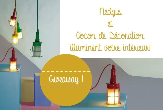 concours luminaire nedgis cocon de decoration