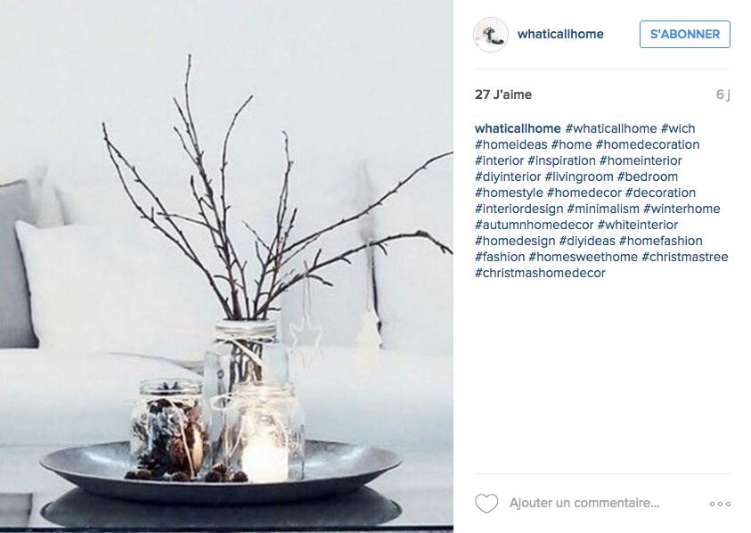 Instagram pr pare la maison pour l hiver cocon de for Idee deco hiver