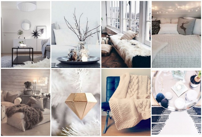 déco maison hiver