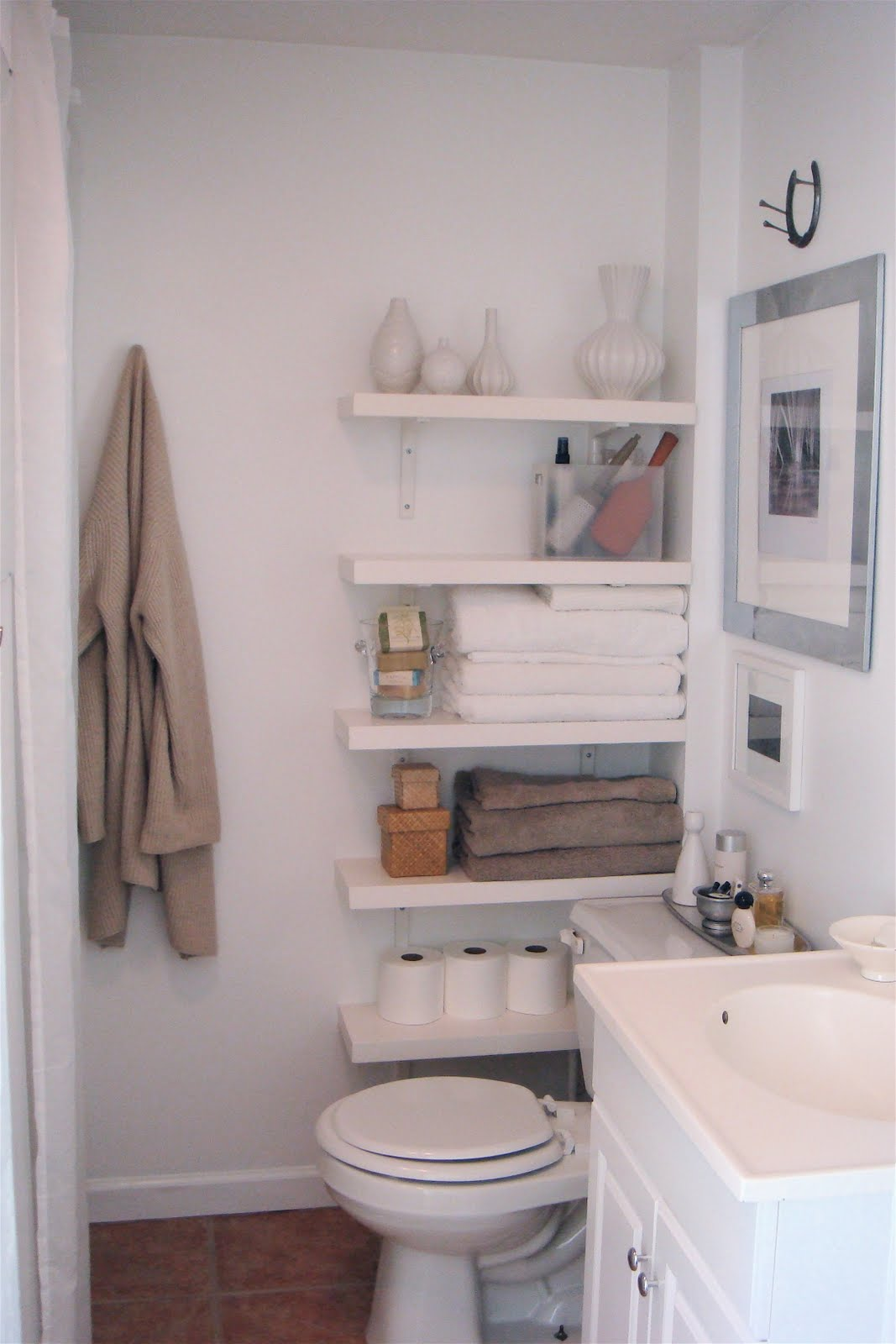 10 id es pour une petite salle de bain cocon de for Bathroom ideas small spaces photos