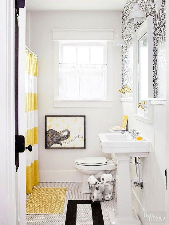 petite salle de bain justesse des couleurs