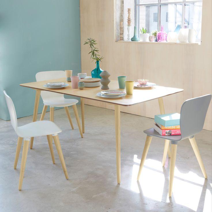 Table ronde ou table rectangulaire cocon de d coration for Table 90x120