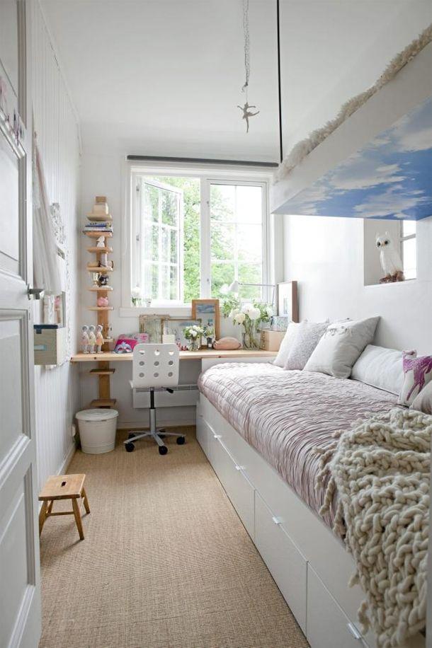 petit espace chambre adolescente
