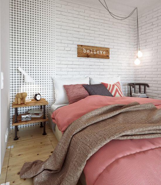 petit espace chambre deco contemporaine