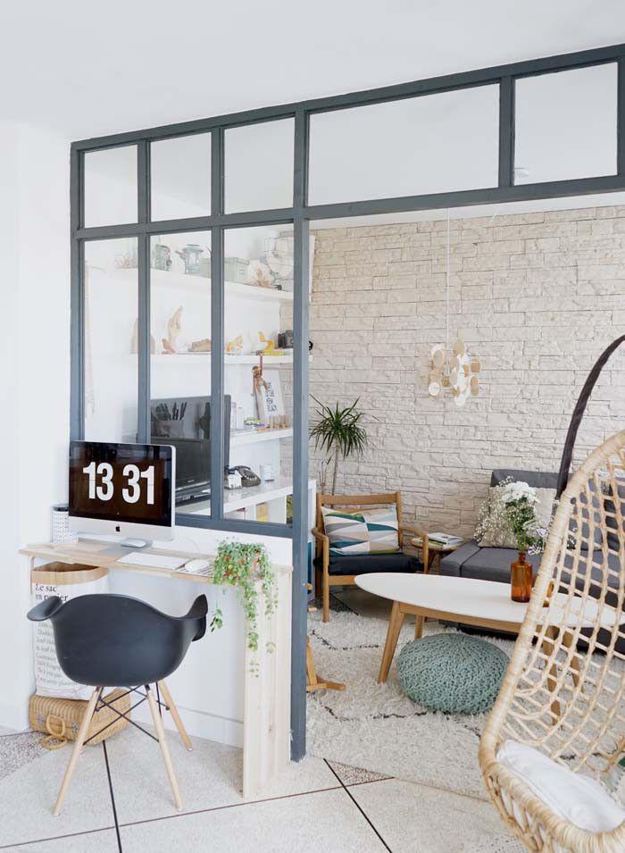 bureau minimaliste console