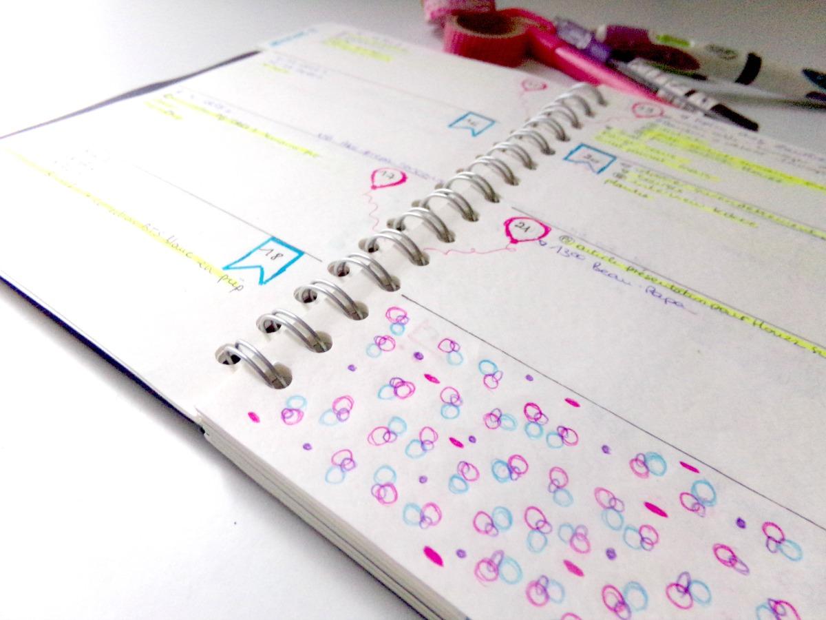 Le bullet journal s organiser facilement cocon de for Journal art et decoration
