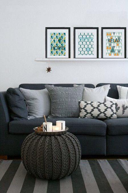 Inspiration un tapis pour le salon cocon de d coration for Tapis petit salon