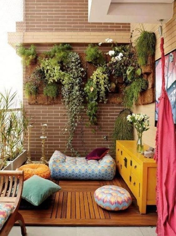 espace meditation deco balcon