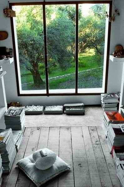 espace meditation deco maison