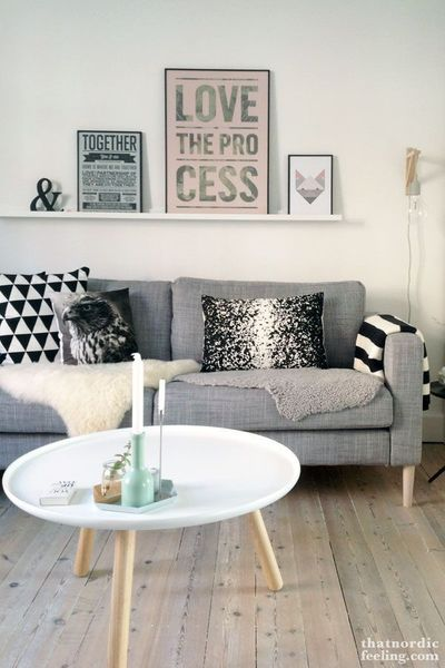 Envie de coussins cocon de d coration le blog - Deco tv muur ...