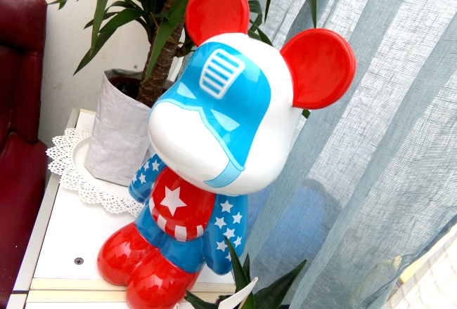 deouverte funky bears deco contemporaine