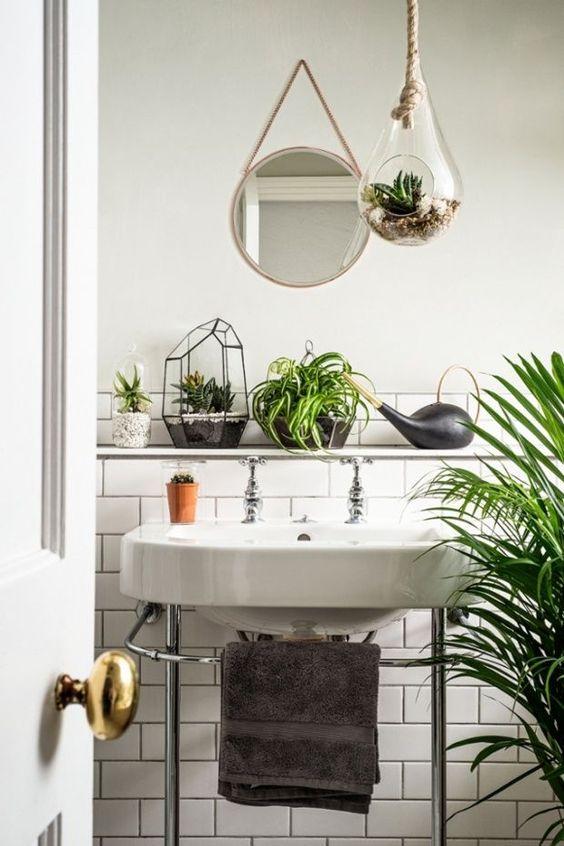 Très De la récup' dans la salle de bain – Cocon de décoration: le blog NU93