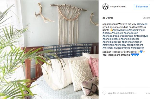 Comme Un Air De Boh Me Sur Instagram Cocon De D Coration Le Blog