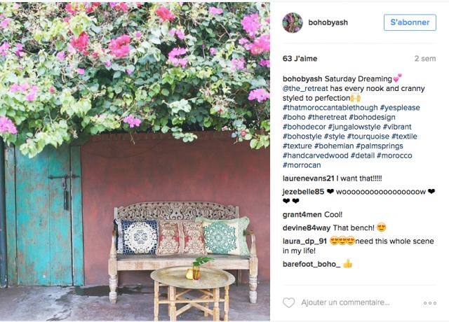 Comme Un Air De Boh Me Sur Instagram Cocon De D Coration