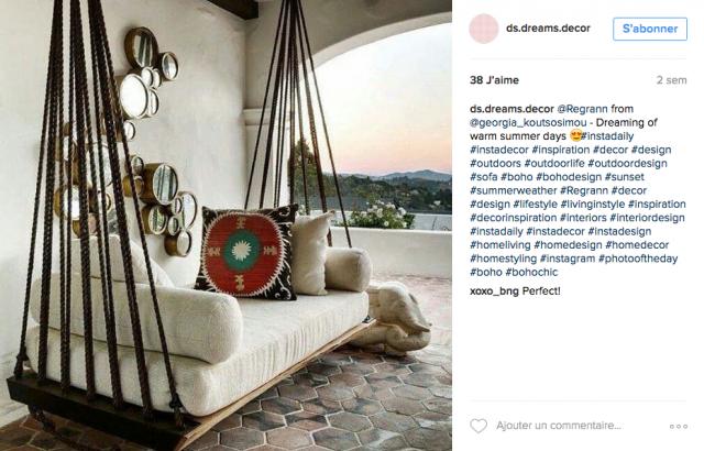 comme un air de boh me sur instagram cocon d co vie nomade. Black Bedroom Furniture Sets. Home Design Ideas