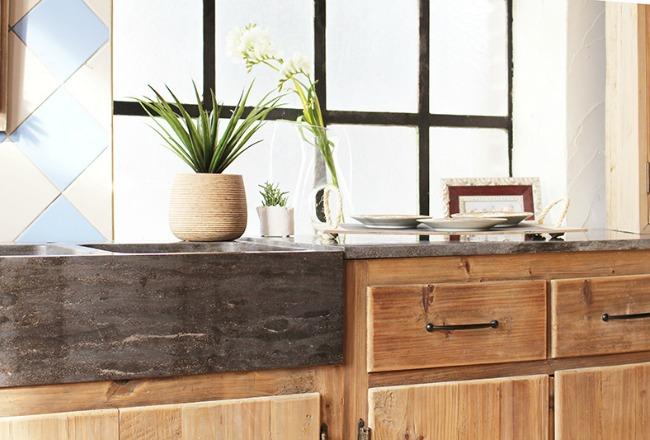 Meuble cuisine massif meuble bas cuisine en chene meubles for Facade cuisine en chene massif