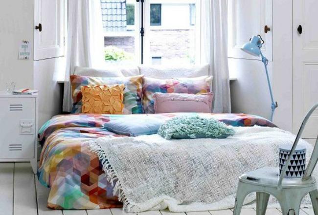 inspiration un air de printemps dans la chambre cocon de d coration le blog. Black Bedroom Furniture Sets. Home Design Ideas