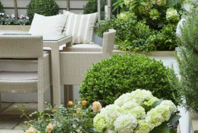 Inspiration petits espaces ext rieurs cocon de d coration le blog - Decoration petit jardin exterieur ...