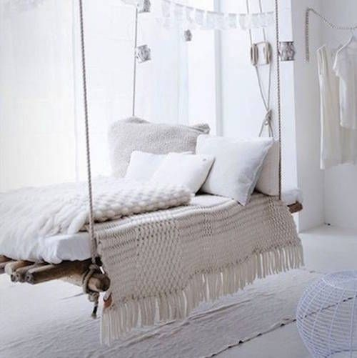 Inspiration une balancelle d int rieur cocon de for Decoration interieur blog