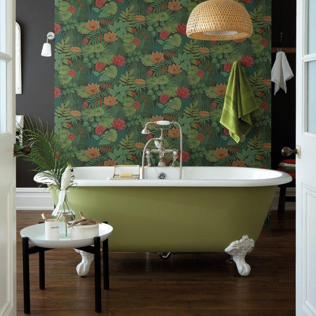 papier peint plante verdure