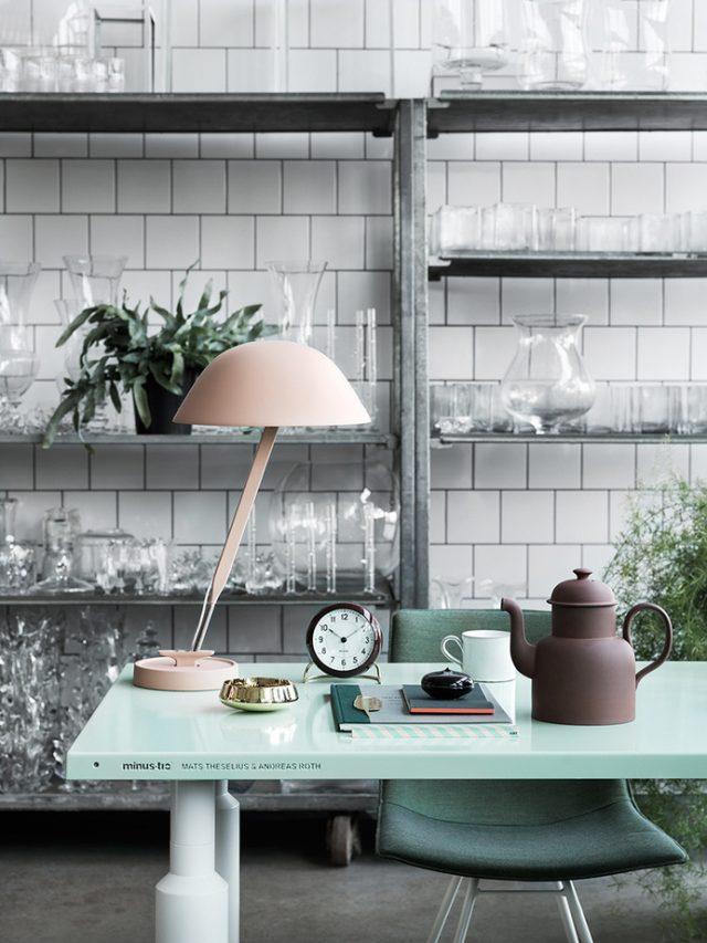 cuisine blanche table colour