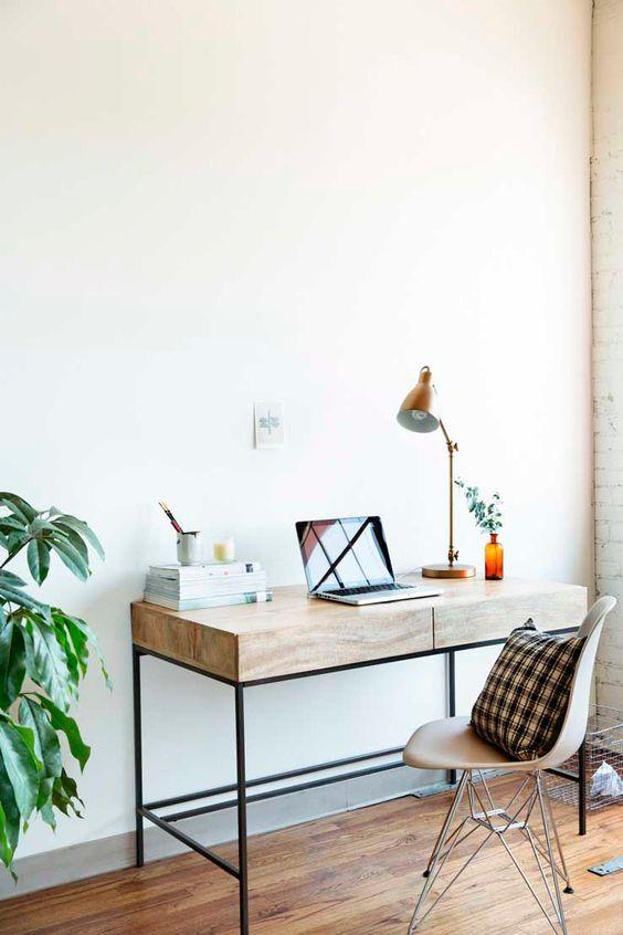 inspiration minimaliste bureau espace de travail