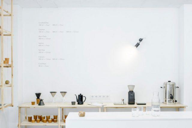 inspiration minimaliste restaurant