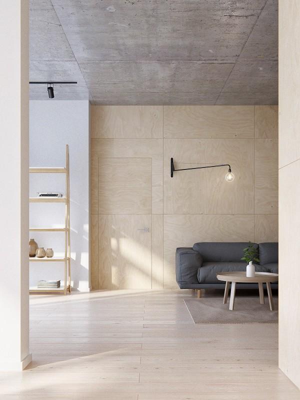 penderie minimaliste