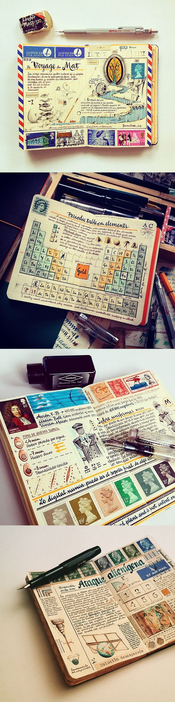 carnet de voyages inspiration
