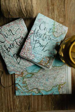 couverture handmade carnet de voyage