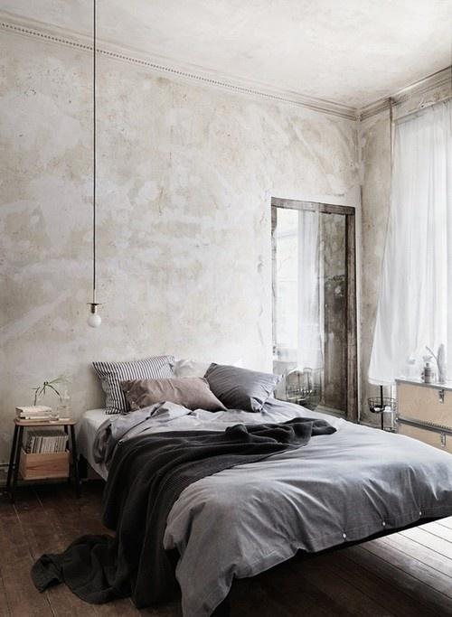 deco-chambre-gris-clair-draps