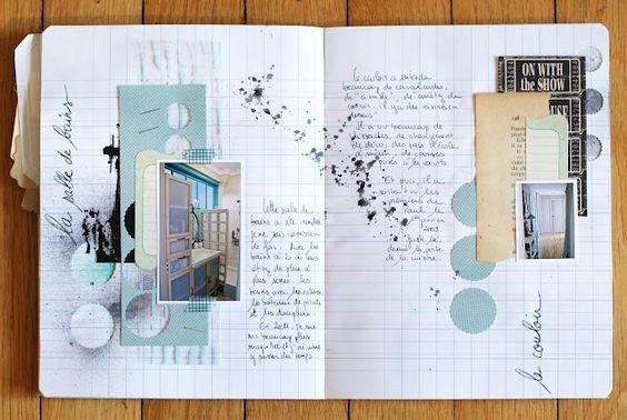 joli cahier de voyage