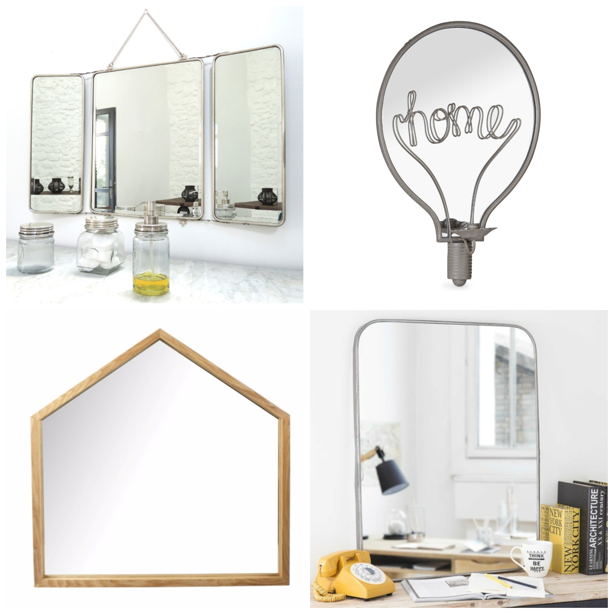 selection miroir deco idee
