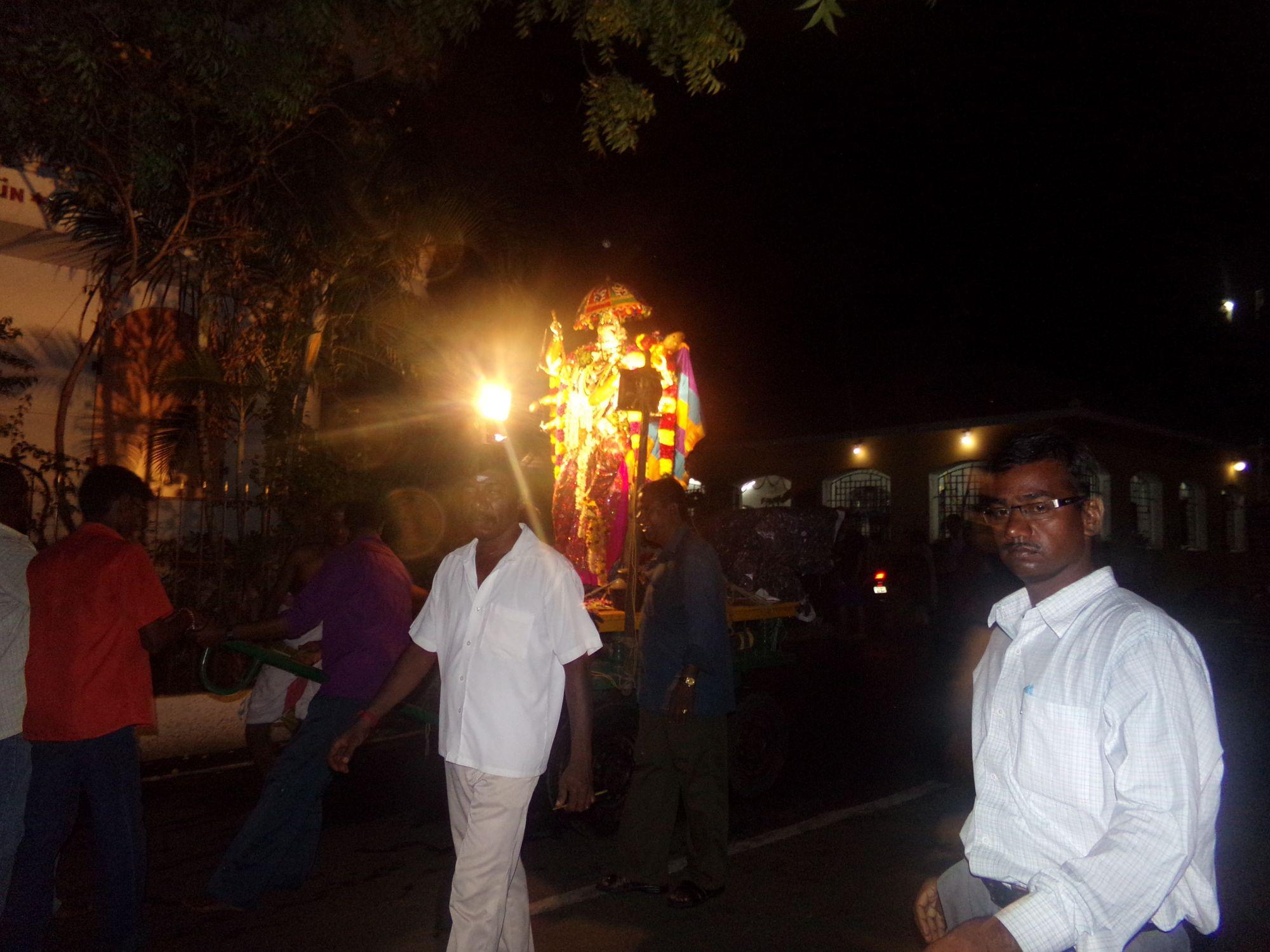 ayudha pooja fete soir procession 2016