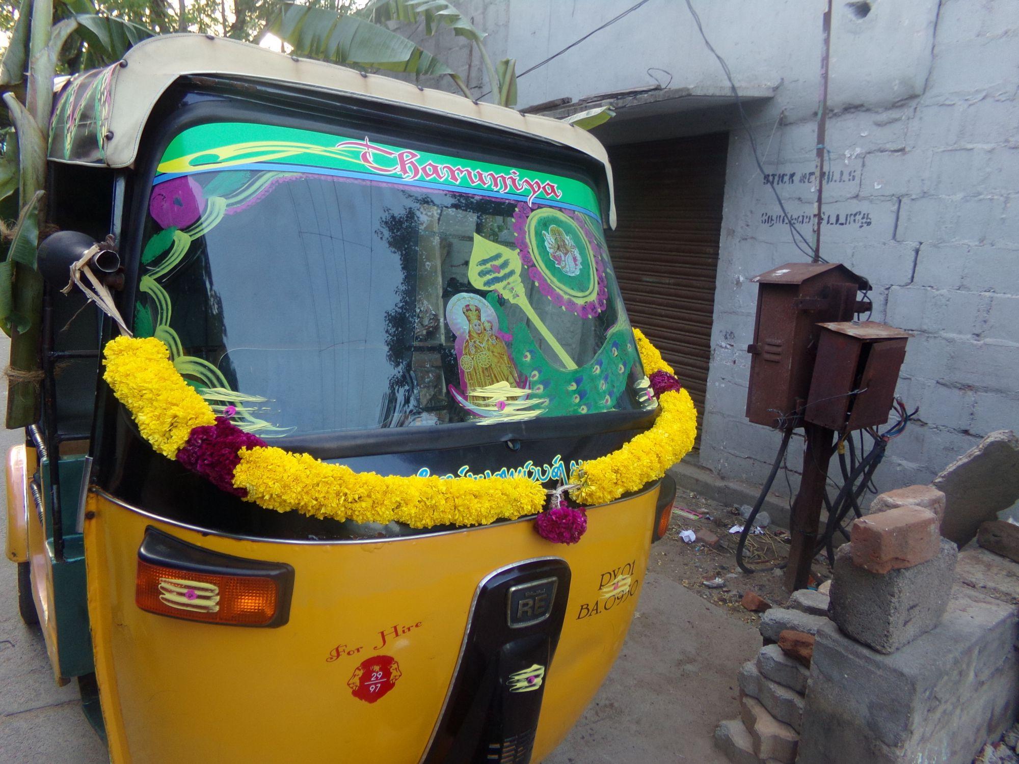 deco tuktuk ayudha pooja 2016