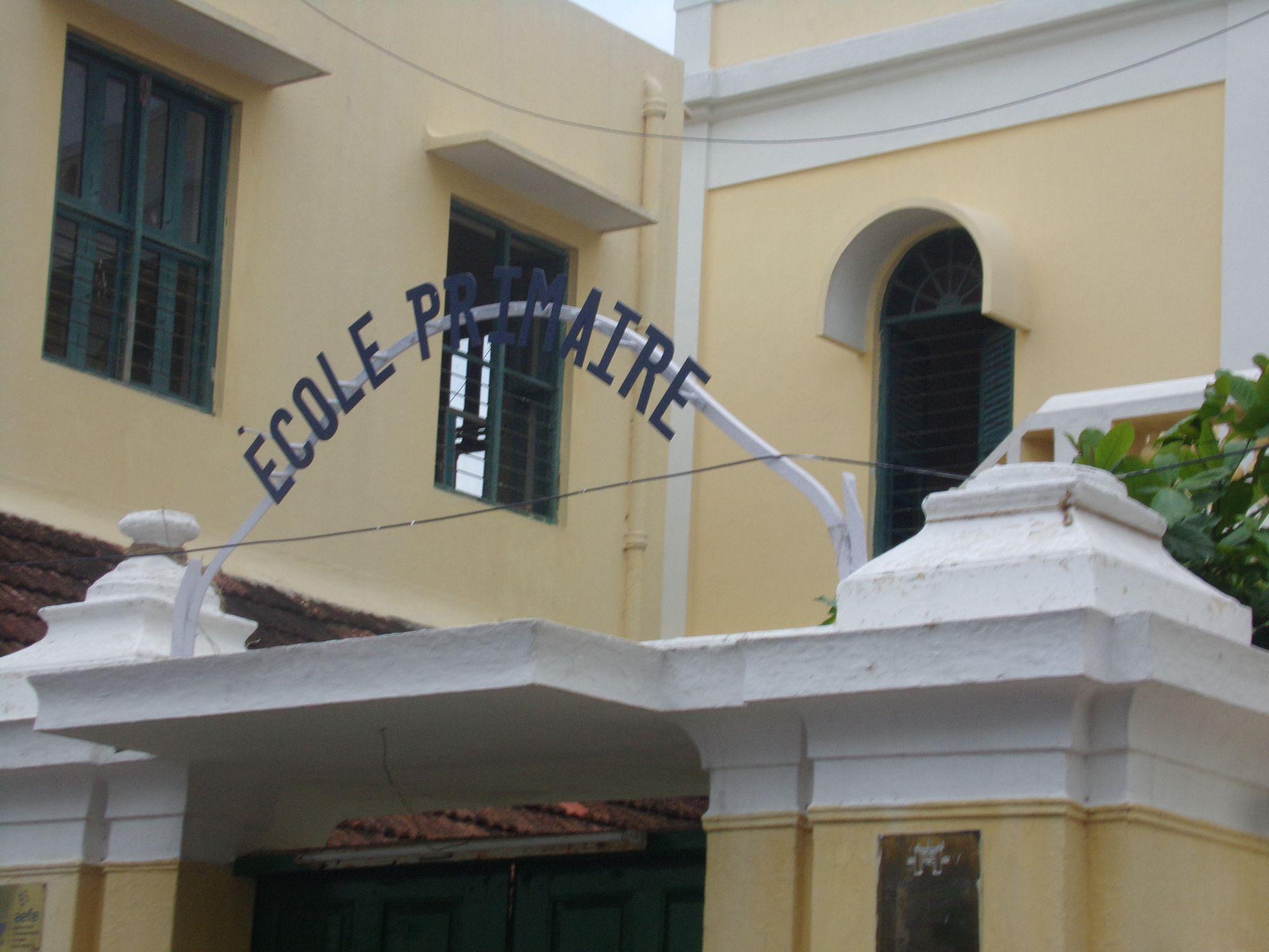 ecole primaire pondicherry