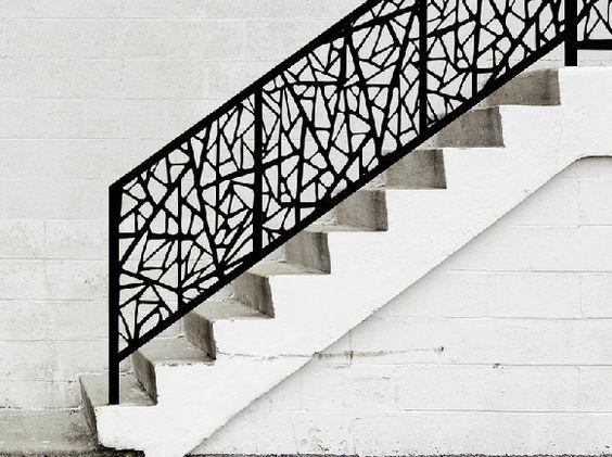 escalier-garde-corps-metal-contemporain